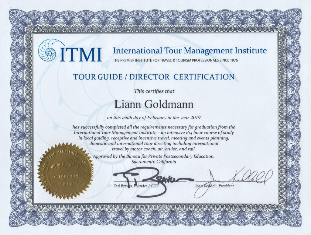 Tour Directors Certification