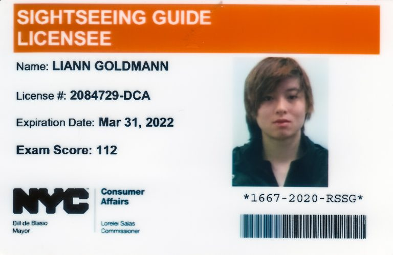 NYC Guide License